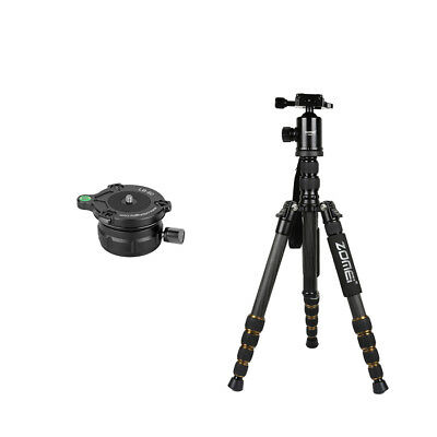 Tripod Monopod Kit & Ball Head + Leveling Ball Head Base for Canon MagiDeal