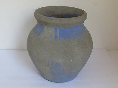 Vintage Hillside Type Pottery Concrete Garden Pot