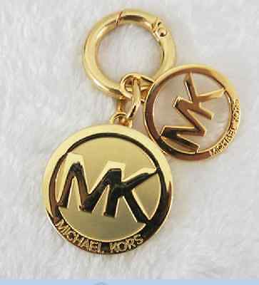 High Quality Letter M   K Gold Logo Key Chain Charm Wallet Keychain  wholesal NEW 8852c4757