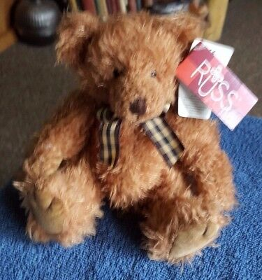 New Russ Berrie Teddy Bear Bears From The Past Wellington 24007 Plush Soft Toy