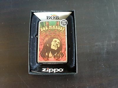 Zippo Bob Marley Lighter Sealed with Box