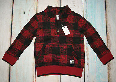 Gap BNWT Boys Checked Pattern Jumper Size 24 Months