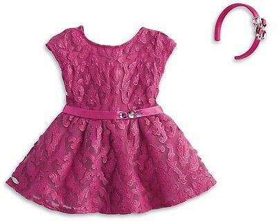 American Girl Merry Magenta Outfit for 18-inch Dolls