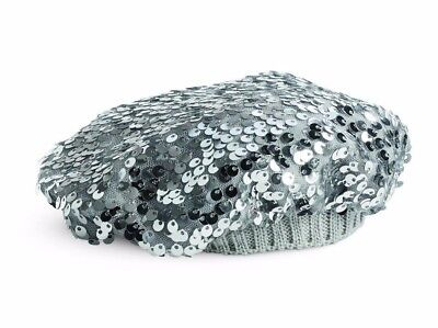 American Girl Silver Sparkle Beanie for 18-inch Dolls