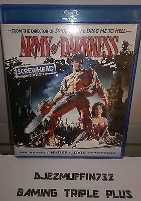 Army Of Darkness Screwhead Edition Blu-Ray