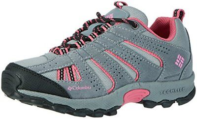 Columbia Youth North Plains Waterproof, Chaussures Multisport Outdoor Fille, Gri