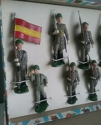 BRUVER -  Spanish Toy soldiers - made 54-56 years in Spain