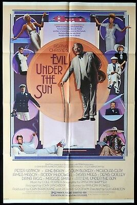 EVIL UNDER THE SUN Original US One sheet Movie poster