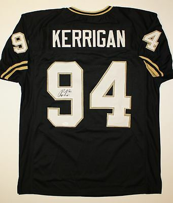 Ryan Kerrigan Autographed Black College Style Jersey- JSA W Authenticated