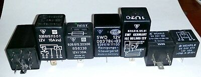 Porsche 928 assorted relays New and Used.