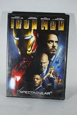 DVD Iron Man 2008 Widescreen Used 1 Disc Case Slipcover