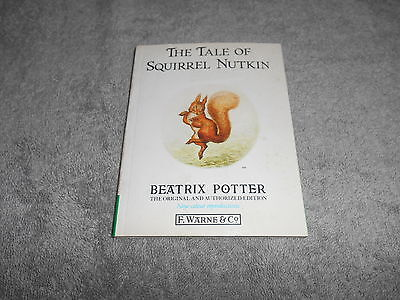 Bp Book - The Tale Of Squirrel Nutkin By Potter