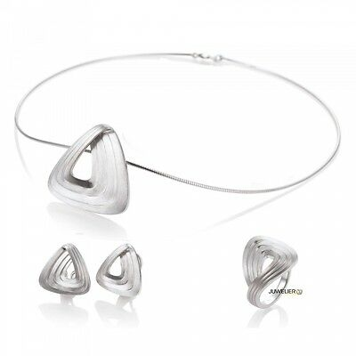Jewellery Set in 925 Silver 98_4999 made by Breuning