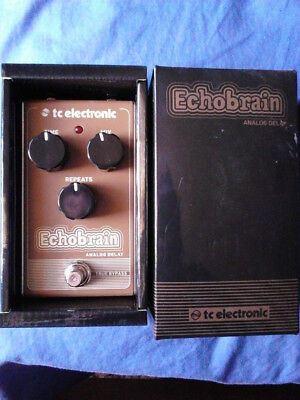 Analog Delay Pedal Tc Echobrain