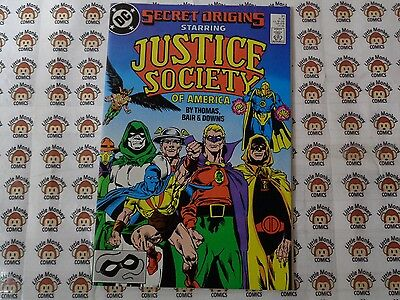 Secret Origins (1986) DC - #31, Justice Society of America, Thomas/Bair, VF/+