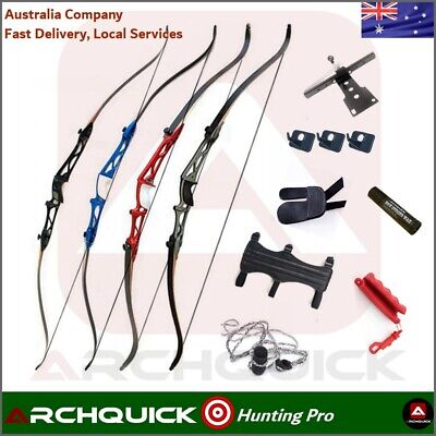 Archquick Recurve Bow Kit Archery Alloy Riser Takedown Target Shooting Beginner