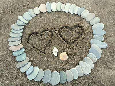100 Wedding Guestbook Stones - Flat Smooth Pebbles To Write On