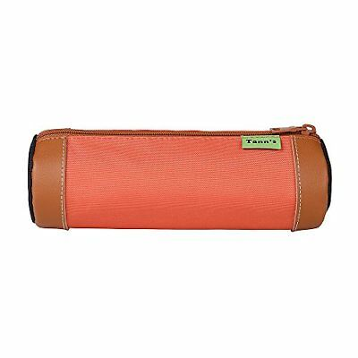 Trousse ronde Orange-Gris Tann's ICONIC