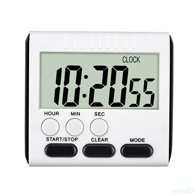 DIGITAL LARGE DISPLAY TIMER COUNT UP/DOWN BIG LCD Uk Seller