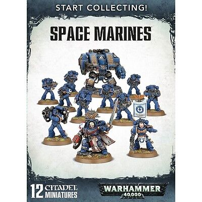 Start Collecting: Space Marines Warhammer 40k Boxed set