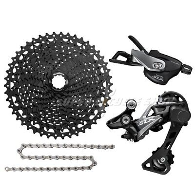Shimano SLX 1X11 Speed Groupset w/ SunRace CSMS8 11-46T & Shimano Chain 118L