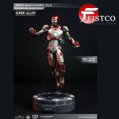 IRON MAN 3 - Super Alloy 1/12 Iron Man Mark XLII (Play Imaginative)