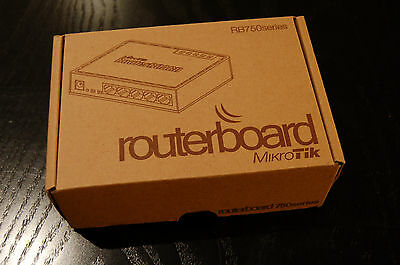 Mikrotik routerboard RB750 Series Router Switch Network Hub CCNA OpenStack Lab