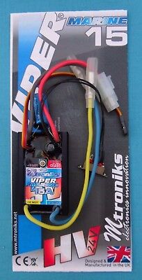 R/C Model  24v Speed Controllers 15A - 20A - 25A