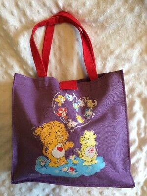 Vintage Care Bears Cousins Book Bag/ Bag - 1980s - Awesome Item ❤️❤️