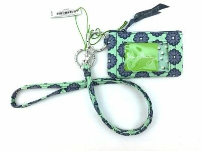 New with tags Vera Bradley Zip ID Case and Lanyard in Nomadic Blossoms