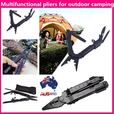 Outdoor Camping Needle Nose Multi Tool Pliers Knife Bottle Opener Screwdriver D3