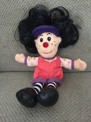 """The Big Comfy Couch Loonette The Clown 9"""" Mini Plush Doll Vintage"""