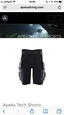 Apeks tech shorts Large Brand New With Tags