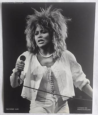 "Tina Turner Photo Print 8"" X 10"" Black And White Photo Print"