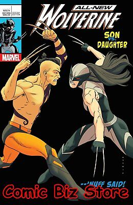 All New Wolverine  #25 (2017) 1St Printing Anka Lenticular Variant Cover Legacy