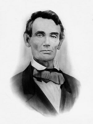 ABRAHAM LINCOLN UNITED STATES US PRESIDENT HISTORICAL PHOTO 8x10 PICTURE