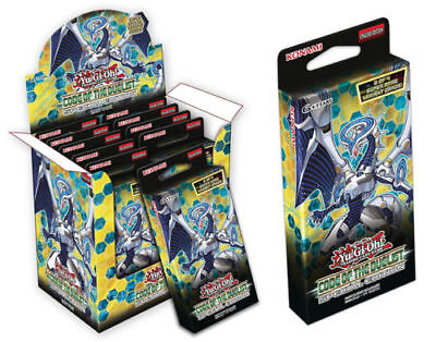 3 x YuGiOh! Code of the Duelist Special Edition Mini Booster Box!