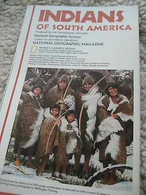 National Geographic Supplement 1982 Indians of South America
