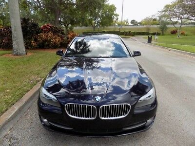 2013 BMW 5-Series Base Sedan 4-Door 2013 550I M SPORT PKG NAVIGATION REAR VIEW CAM HEATED COOLED SEATS FL