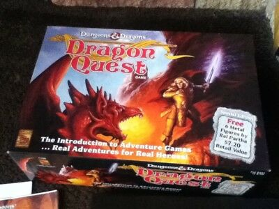 Dungeons & Dragons - DRAGON QUEST game - Boxed - complete