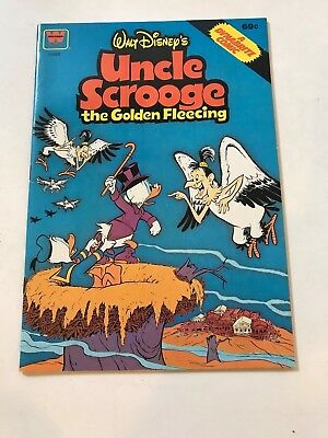UNCLE SCROOGE: THE GOLDEN FLEECING Disney Dynabrite comic Whitman VF/NM 1978