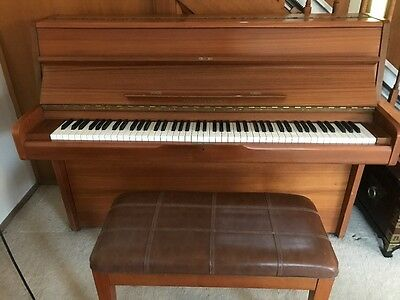 Alex Steinbach Piano + Stool PRICE REDUCED - MUST GO ASAP