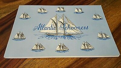 Atlantic Schooners By Rear Admiral Pullen ~ 1967 Brunswick Publication 64 Pages