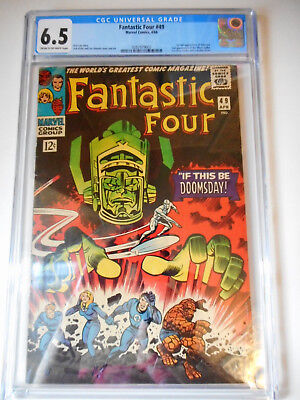 FANTASTIC FOUR #49 CGC 6.5 MARVEL 1966 1st Galactus & Silver Surfer cover! DEAL!