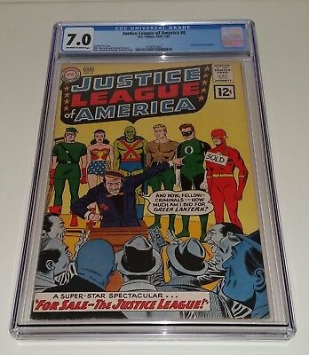 Justice League Of America #8 Dc 1961 Cgc 7.0  Deal!