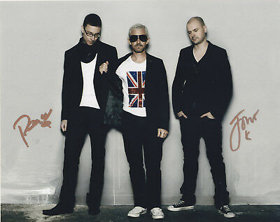 Above And Beyond Signed Autograph Edm Trance 8X10 Photo Exact Proof #3