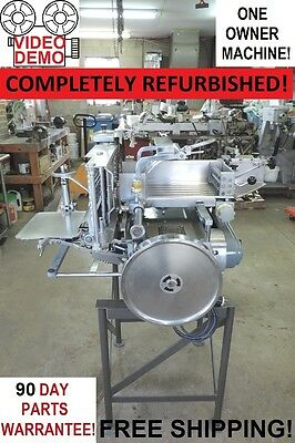 Berkel 180D Commercial Automatic Meat & Cheese Slicer Stacker... REBUILT UNIT!!