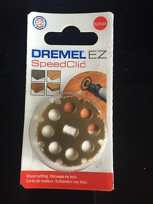 DREMEL SC544 EZ SpeedClic Wood Cutting Wheel SC544 Dremel 544