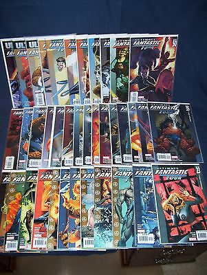 Ultimate Fantastic Four #23 - #60 NM with Bag and Boards Marvel Comics