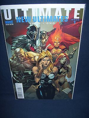 New Ultimates #1 Cho Variant Cover NM with Bag and Board Marvel Comics
